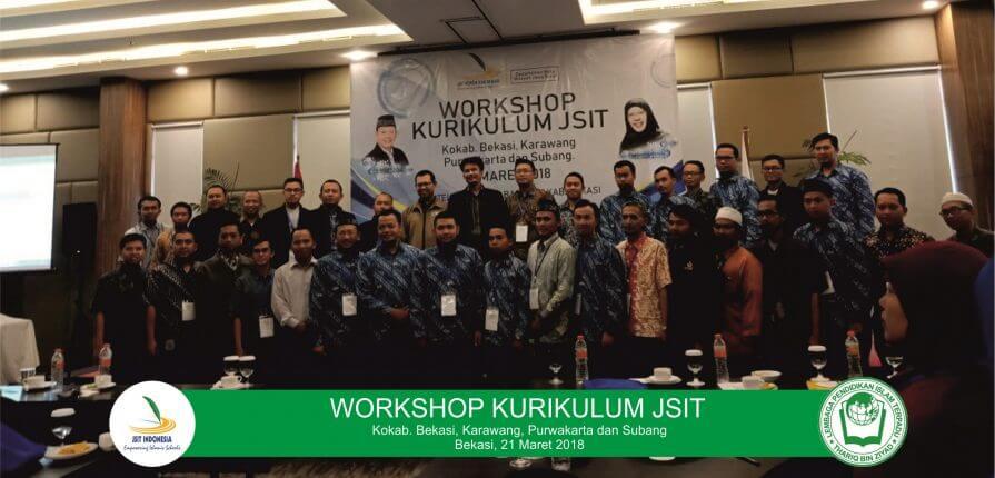 Workshop Kurikulum JSIT (Sekolah ku jalan Surga ku)